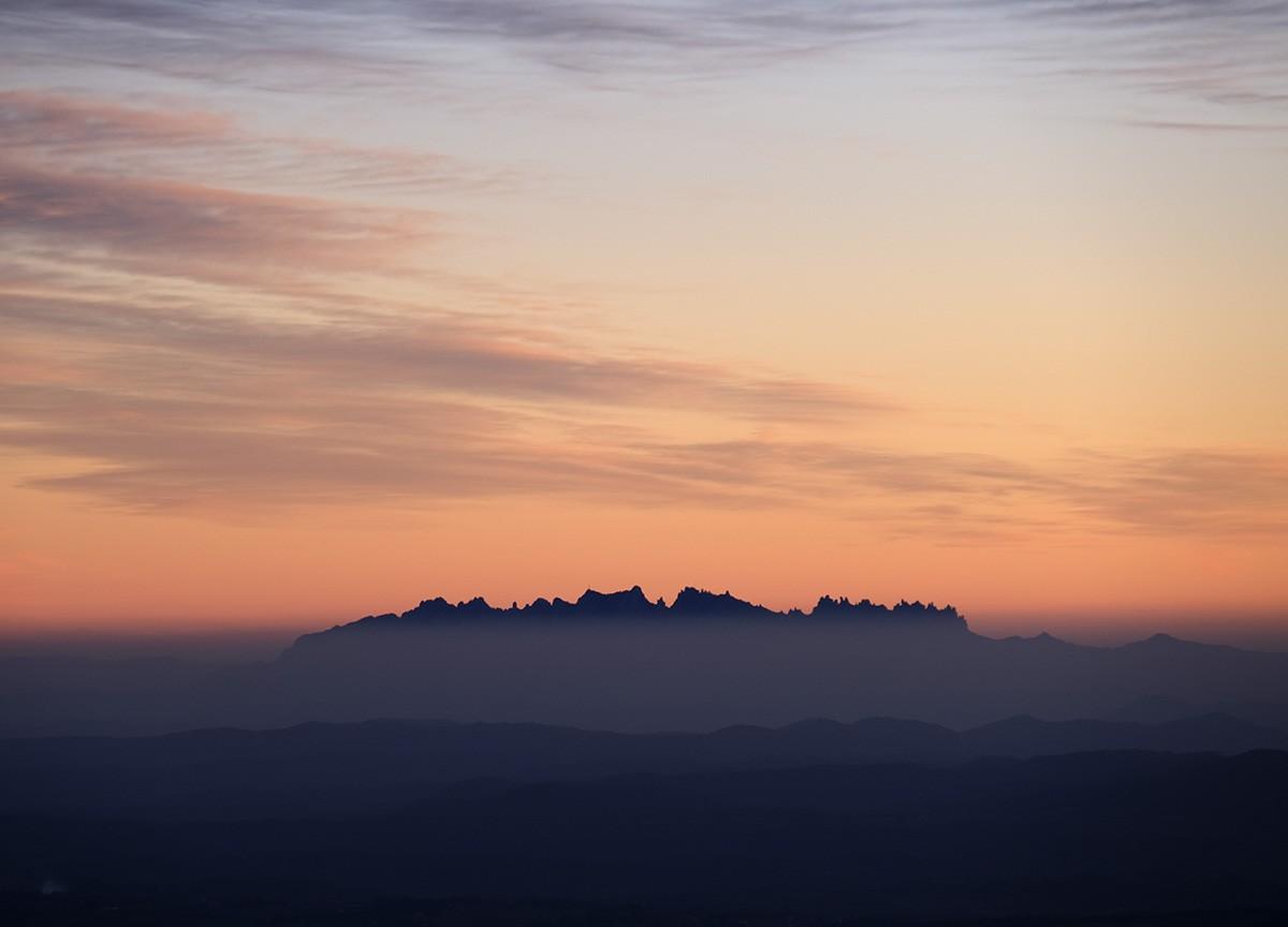 Vistes de Montserrat, un tros de biosfera.