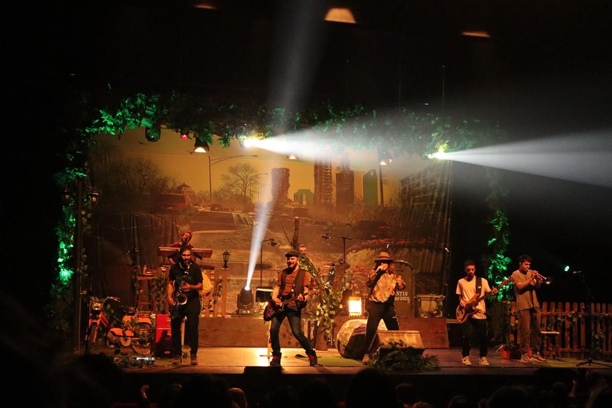 Concert de Buhos al Kursaal, 19 de febrer.