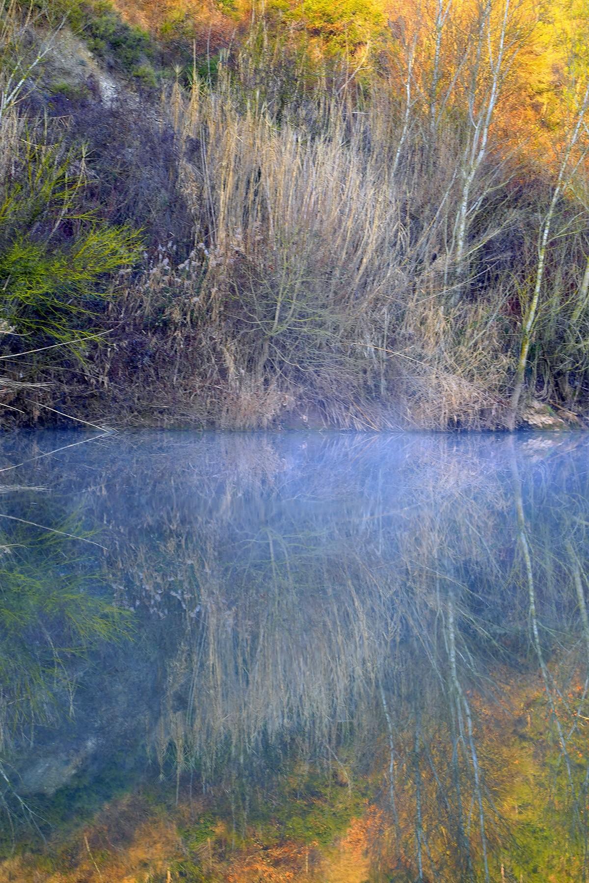 Tram del riu Llobregat proper als Tres Salts