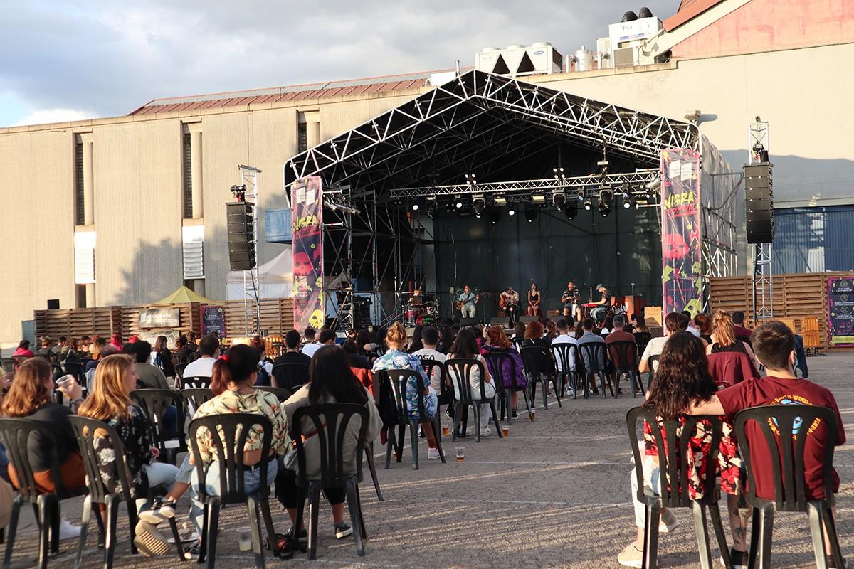 Concert de La Prima Vera al Vibra Festival.