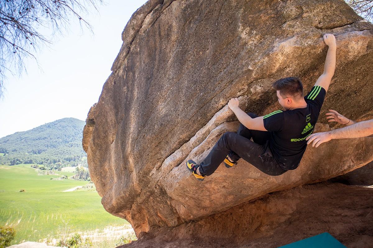 Escalada en roca.